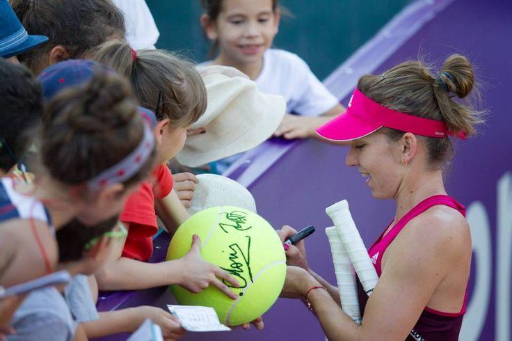 Simona Halep @ Bucharest Open (2014)