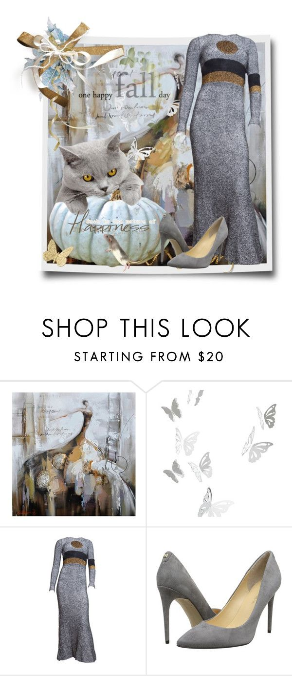 """One Happy Fall Day"" by kmlvr9 ❤ liked on Polyvore featuring mode, Yosemite Home Décor, Pier 1 Imports en Ivanka Trump"