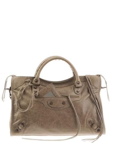 Balenciaga Taupe City Classic Bag