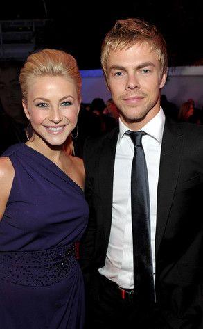 Julianne and Derek Hough   Cutest Celebrity Siblings ...