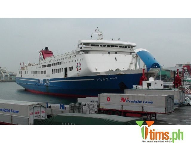 Find the best and affordable brand new and second hand Boats and Ships for sale at tims.ph - Middle Size Ropax Ferry For Sale 8000000 Middle Size Japanese Ropax Ferry Available For Sale Usd 8M each FERRY OSAKA and..., Quezon - Metro Manila - Philippines