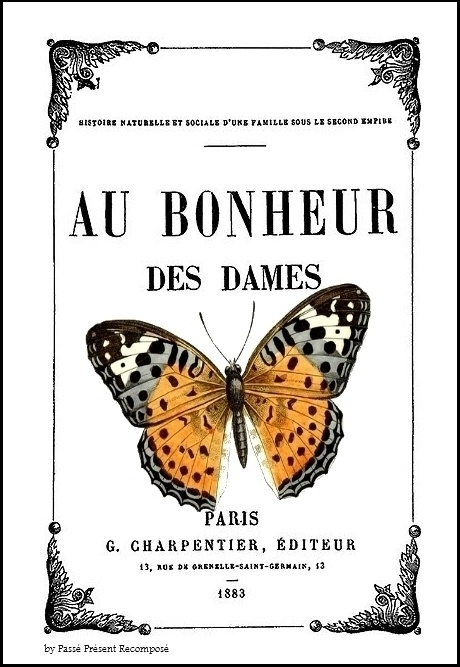 Papillon au bonheur des dames by Passé Présent Recomposé via au Fil rouge