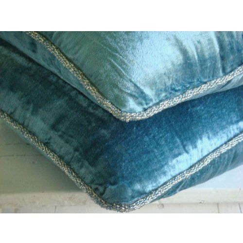 Blue Shimmer - 45x45 cm Square Decorative Throw Teal Blue... https://www.amazon.co.uk/dp/B004NPVOTY/ref=cm_sw_r_pi_dp_x_PJ34yb0NVNQCP