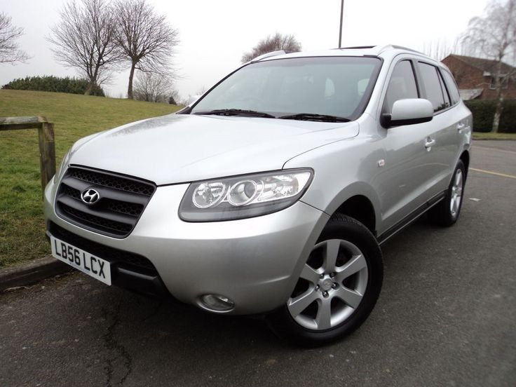 Hyundai Santa Fe CDX Plus V6 + AWD + Full Service History (platinum silver metallic) 2006 on Gumtree. Presented in Platinum Silver with Grey Leather Upholstery, this two owner, low mileage, Santa Fe V6