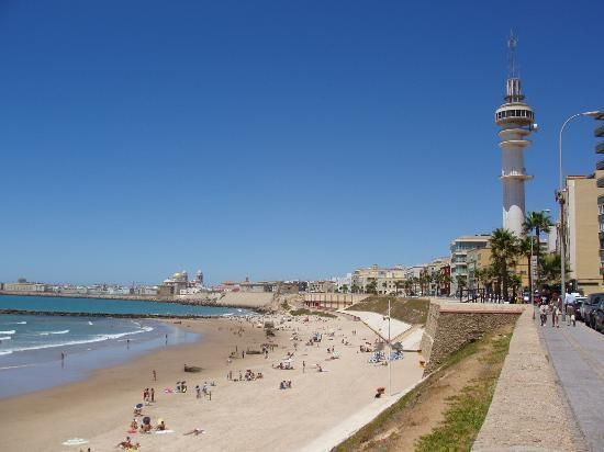 Cadiz, Spain - Loved to lay on the beach and have lunch by the sea front