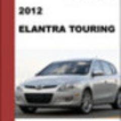 2012 Hyundai Elantra Touring Workshop Service Repair Manual