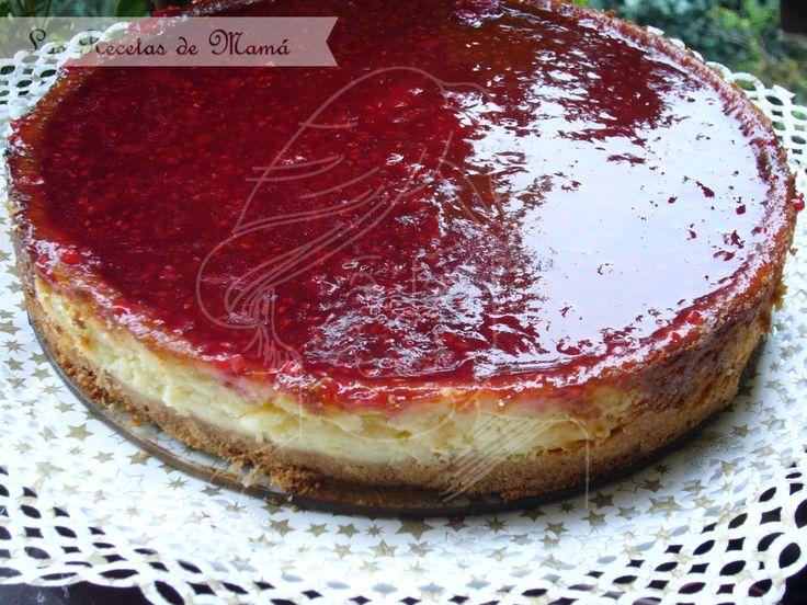 Tarta de queso con Mascarpone | Las Recetas de Mamá