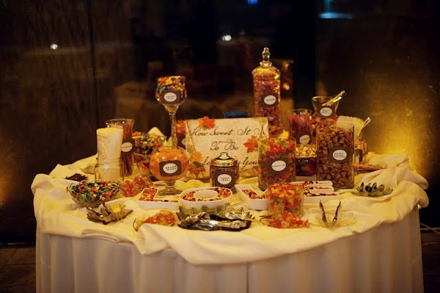 Fall Wedding Candy Buffet Ideas: Fall/Thanksgiving Candy Buffets And