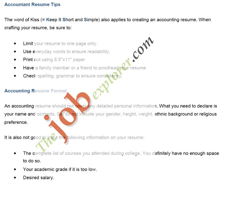 Sample Job Application Cover Letter -    wwwresumecareerinfo - retail accountant sample resume