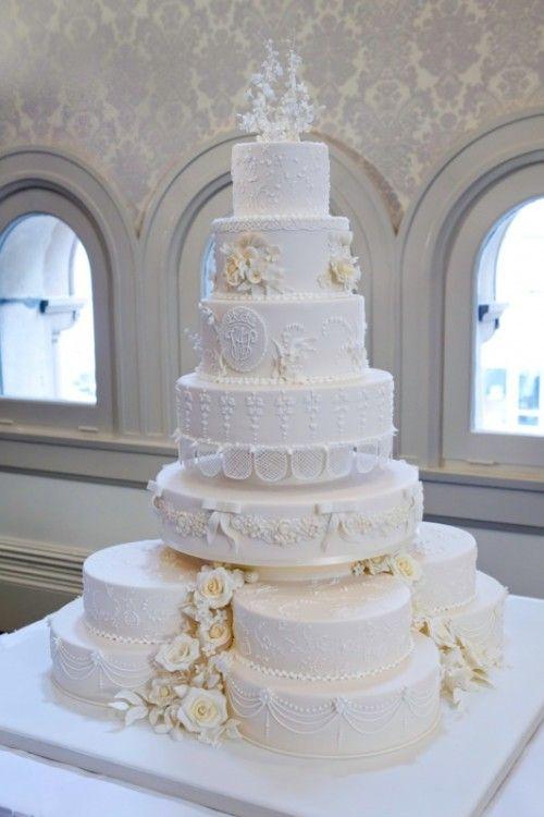 Royal Wedding Cake Replica At Baroque Patisserie