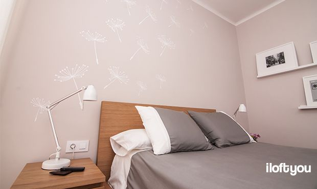 #proyectosantalo #iloftyou #interiordesign #ikea #barcelona #lowcost #bedroom #malm #ribba #tral #myvinilo