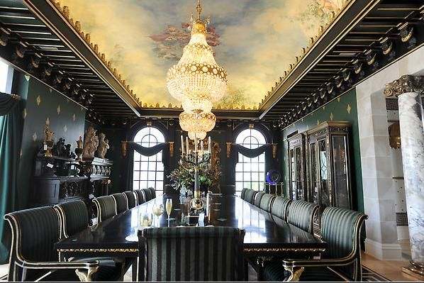 Formal Dining Hall For Exclusive And Esteemed Guests The Paquin Magnificent Mansion Dining Rooms Decorating Design
