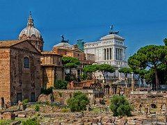 Foro Romano, Roma, Italia, Ruinas, Hitos