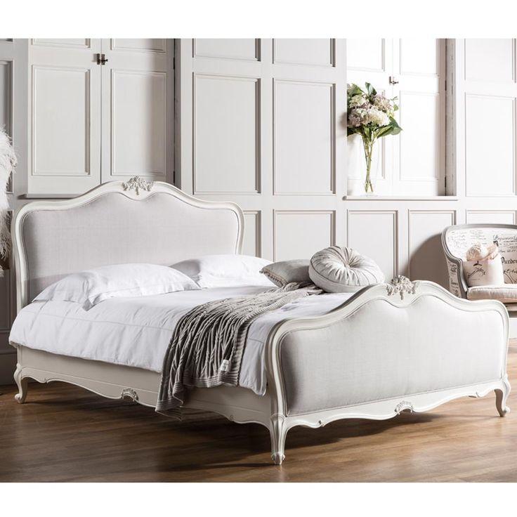 Charlotte Upholstered Bed King 371 best DecorateFurnishings