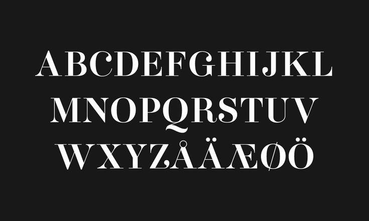 Aker Brygge Display — A-Ö. Design by Sans Colour.