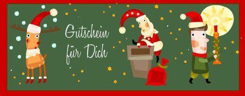 20 kostenlose Gutschein Vorlagen für Weihnachten zum Download