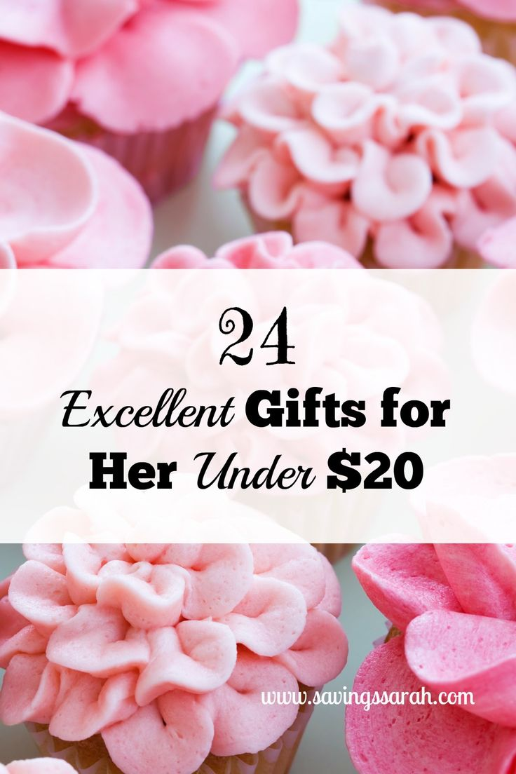 From your mom to your good female friends, here are 24 Excellent Gifts for Her Under $20. Great gifts for reasonable prices. Definitely check these out.