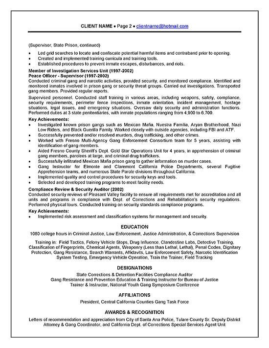 Detention Officer Resume Cover Letter - http://www.resumecareer.info/detention-officer-resume-cover-letter-3/