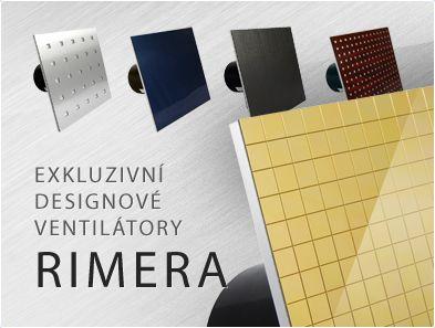 Úplnou novinkou v naší nabídce jsou krásné #designové #ventilátory #Rimera, které svým #vzhledem příjemné doplní vaší #koupelnu. Podívejte se http://www.ventilatory.cz/ventilatory-do-koupelny-ventilatory-designove-_ventilatory_-67_136.html?pocet_produktu=50&sort=20a