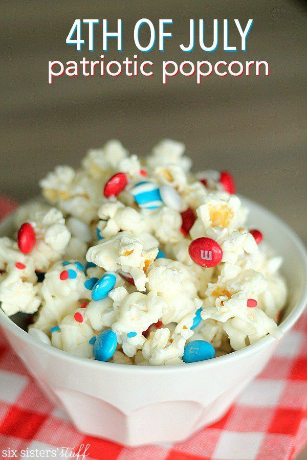 fourth of july popcorn recipe