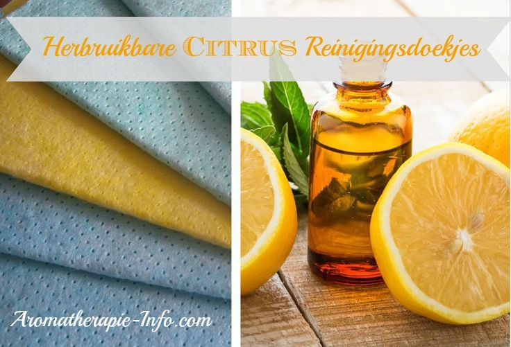 Deze desinfecterende citrus reinigingsdoekjes mogen niet ontbreken op je aanrecht. Super makkelijk om altijd bij de hand te hebben en ze ruiken heerlijk fris naar citrusvruchten.