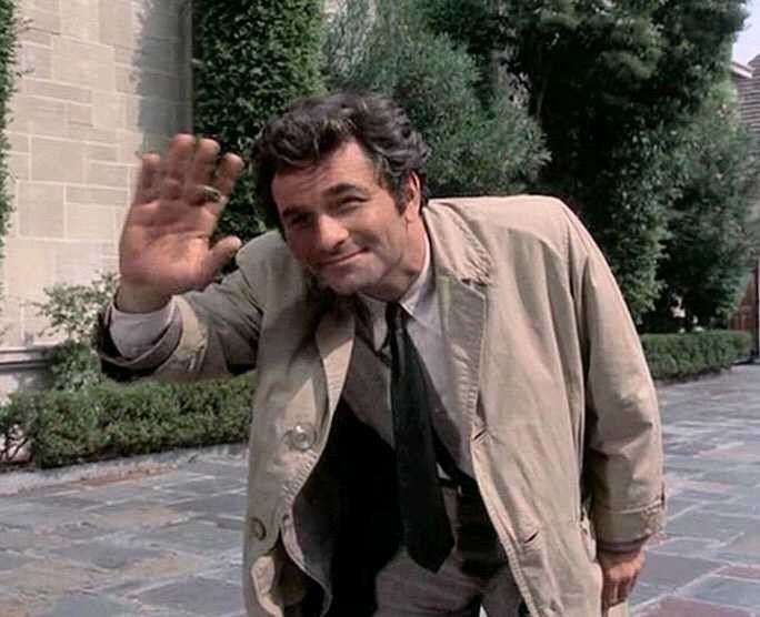 The One And Only Colombo Columbo Columbo Peter Falk American Tv Shows