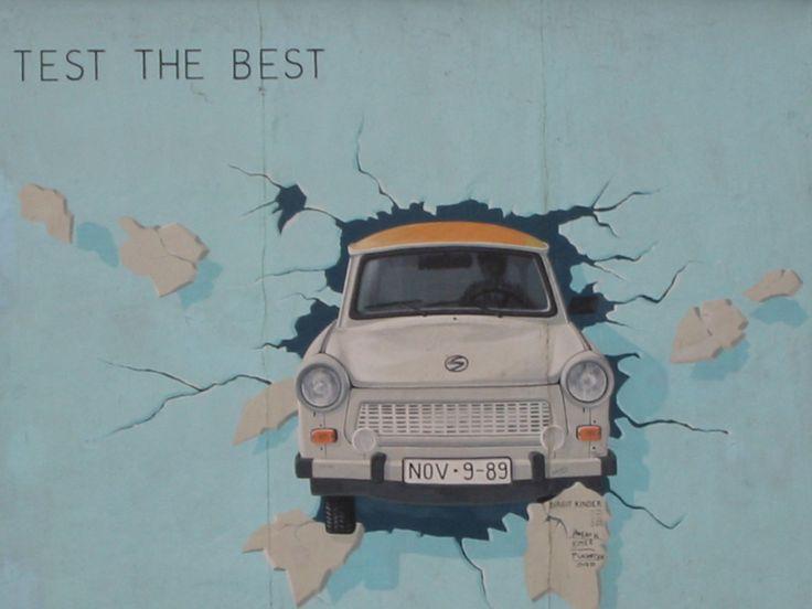 MUR DE BERLIN - TAG - GRAFFITI - PRIS SUR LE NET