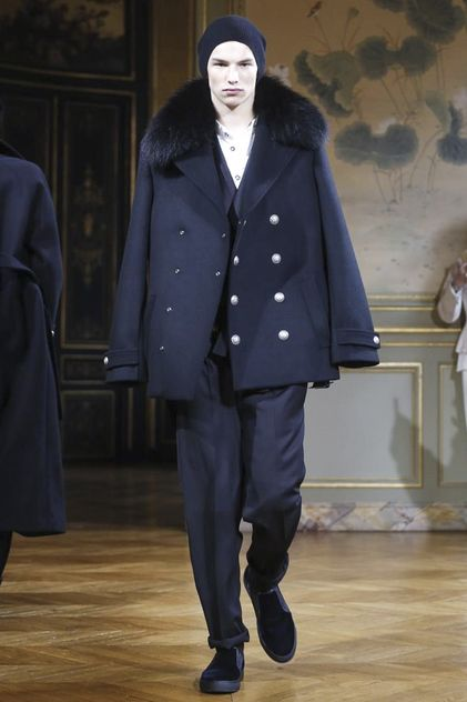 Balmain Homme Menswear Fall Winter 2015 Paris