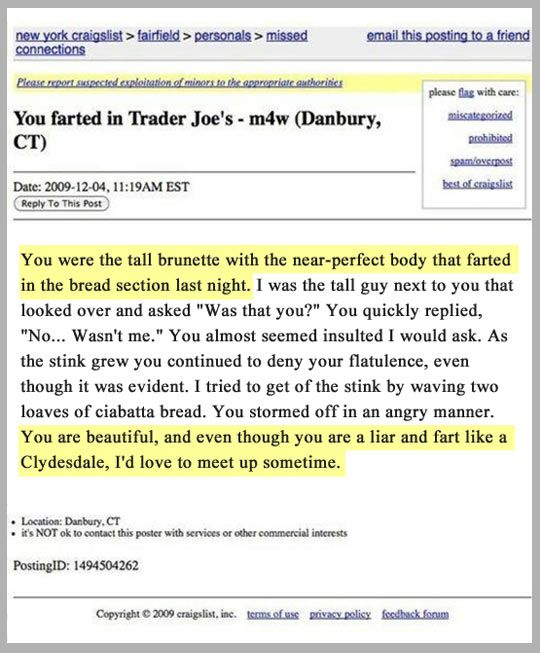 Geek uses Craigslist in an unexpected way, but what a ...