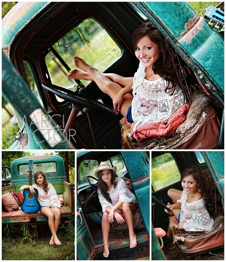 When I find an old truck..... Whose is up for a photo shoot?
