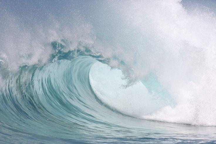 Beautiful wave Wall Mural