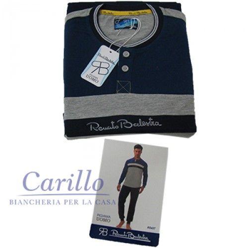 http://www.carillobiancheria.it/pigiama-renato-balestra-uomo-cotone-manica-lunga-tg-m-l-xl-xxl-rs437-blu-f498-14642.html #carillolist