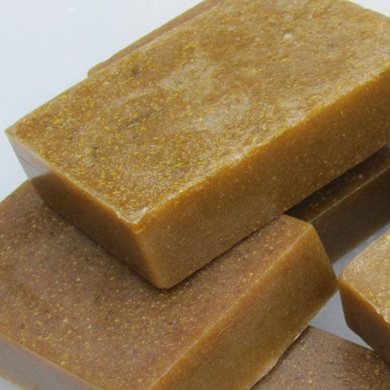 Gardeners Scrub Soap with Beeswax Honey and by LeesBeesNJ on Etsy, $6.00 #naturallybeautiful