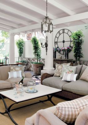 Outdoor living ideas for those who live in a country with more sun than rain:/