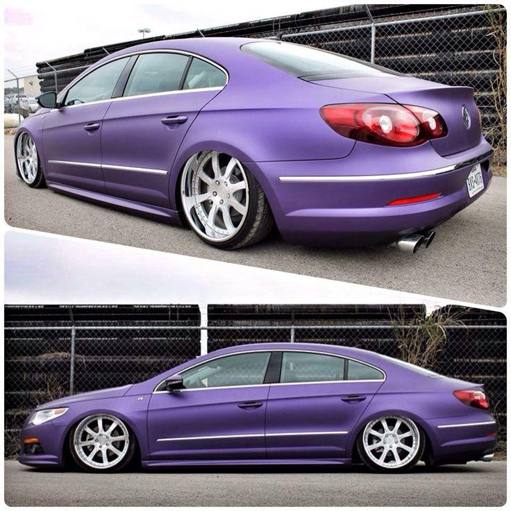 VW Passat CC #purple