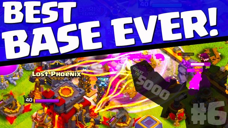 Clash of Clans ♦ BEST BASE EVER! ♦ The Quest to 5000 Trophies in Clash ♦ #6 ♦ - http://yourtrustedhacks.com/clash-of-clans-99e2a6-the-quest-to-5000-trophies-in-clash-99e2a6/