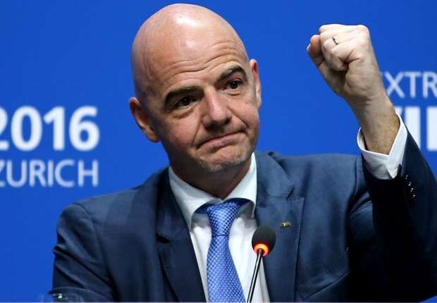 FIFA President Gianni Infantino has defended his latest proposal for a 48-team World Cup, saying it would not extend the tournament beyond the existing length nor require any more venues.