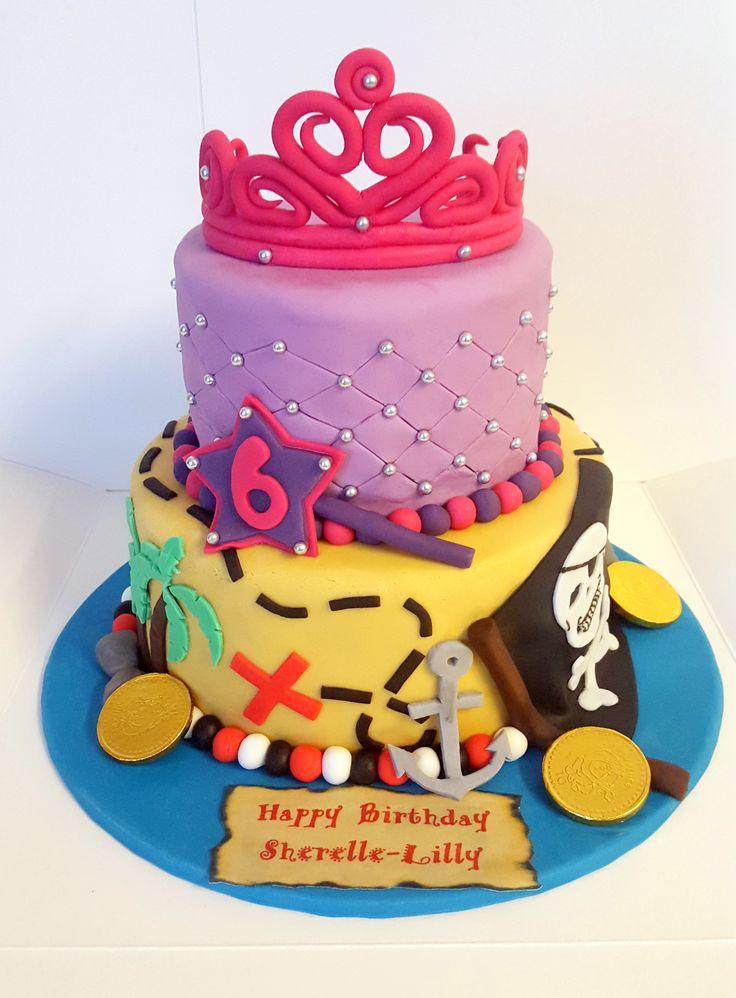 Princess With Birthday Cake
