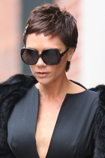 13 / 13 Victoria Beckham Victoria Beckham was known for her Nineties bob during her Spice Girls days, and her WAG extensions afterwards, but took the plunge with a daring crop in 2008.-pin it by carden