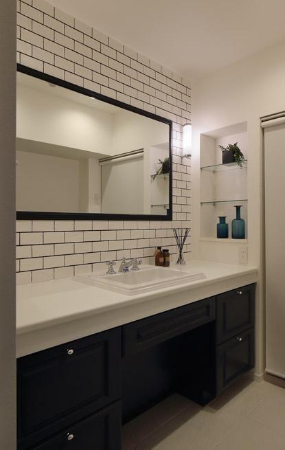 wash room(上質なブルックリンスタイル) - バス/トイレ事例|SUVACO(スバコ)