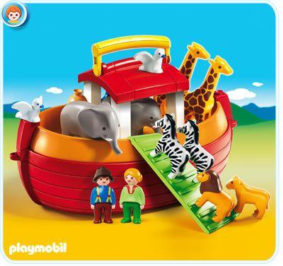 Playmobil 1.2.3 - My Take Along Noah's Ark