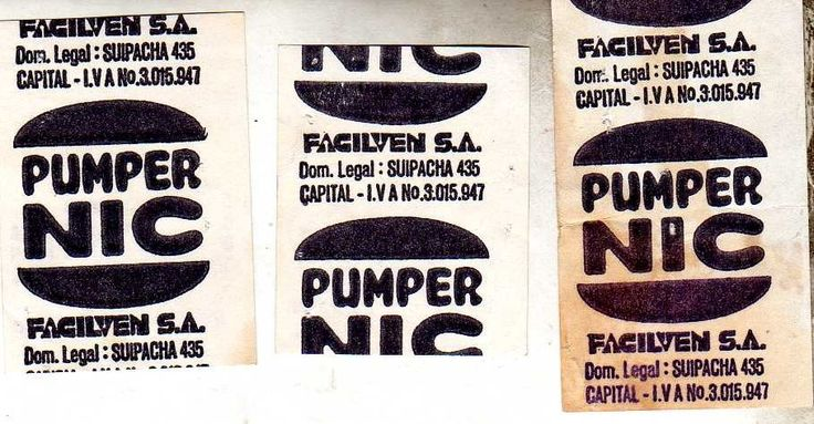 pumper nic tickets de combos