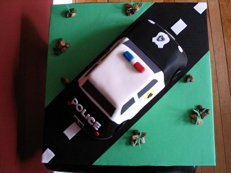 Best 25+ Police car cakes ideas on Pinterest