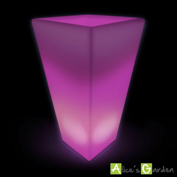 vase led 75cm