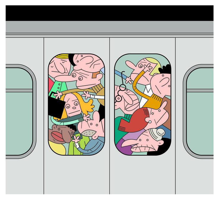 La crise et le délabrement du métro romain s'ajoutant à l'incurie des gestionnaires, les usagers ne sont pas toujours sûrs d'arriver entiers à destination.