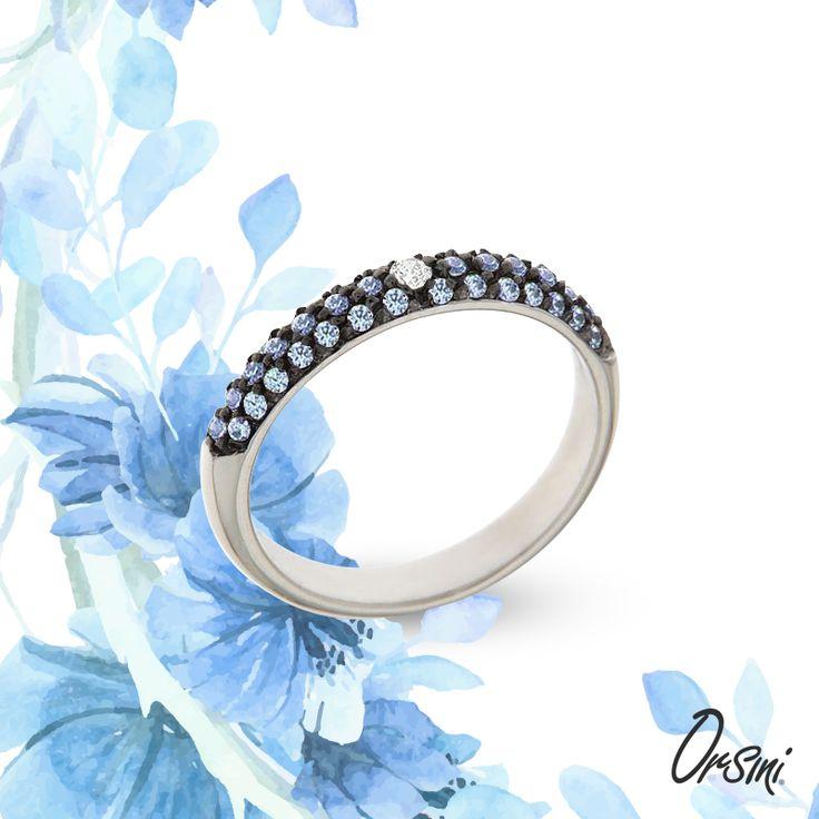 Il tuo #qualcosadinuovo? Un anello che rispecchi anche il #colore del tuo #matrimonio Scoprili tutti qui