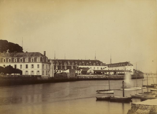 Hubert Vaffier - Lorient, hôpital militaire (1891)