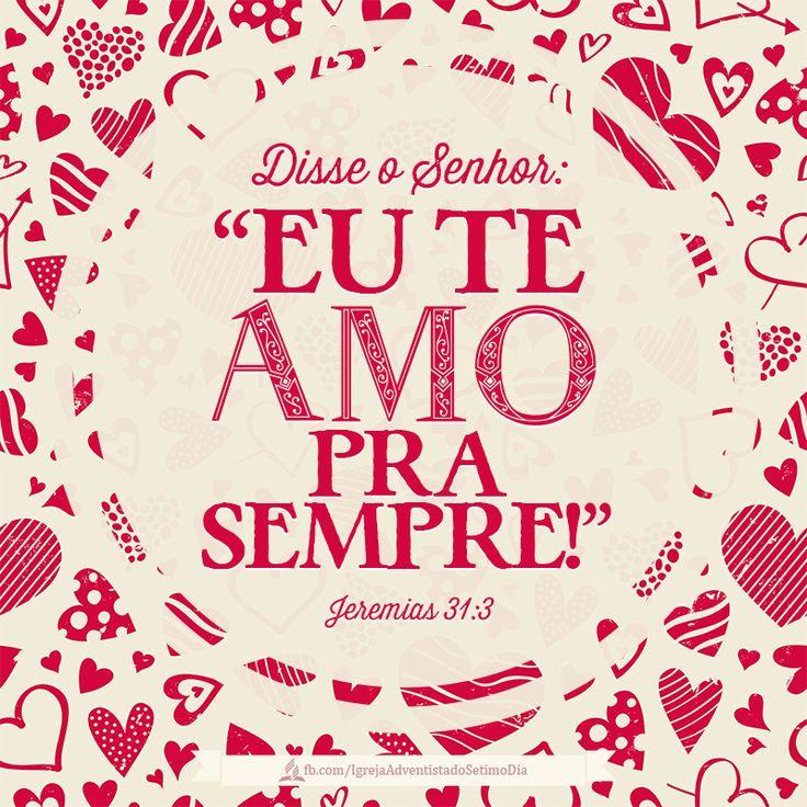 #amo #Senhor #sempre