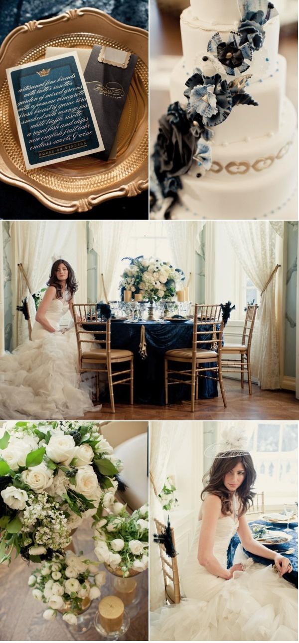 Royal Wedding invitations and cake