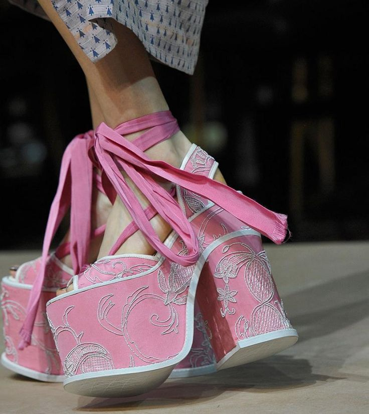 Vivienne Westwood Shoes Gold Label Spring 2012 Womenswear